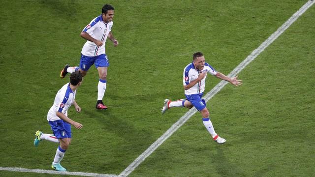 Itália mostra força e derrota a Bélgica