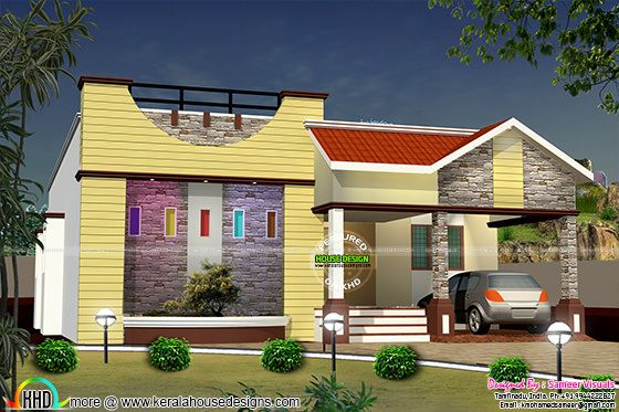 Single floor designer home