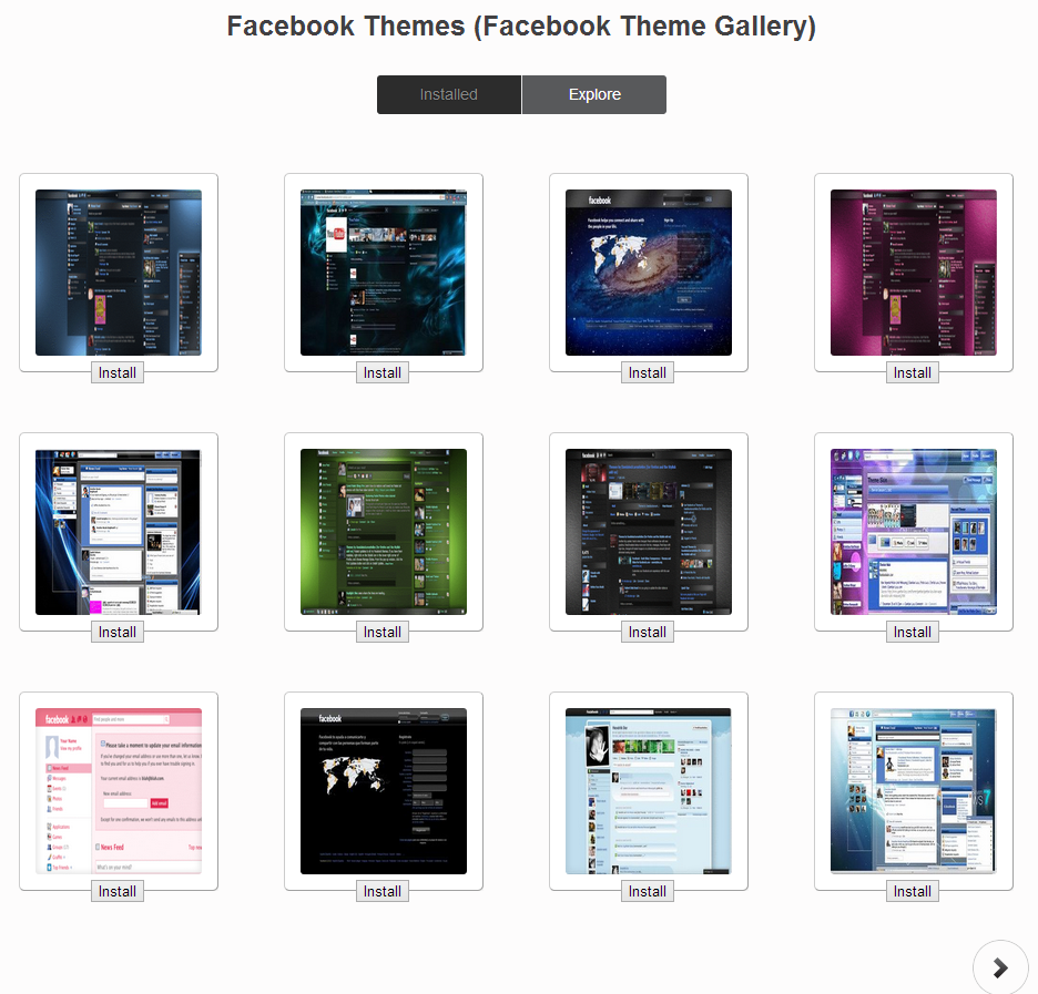 How To Change Facebook Theme Using Google Chrome Extension ~ Tracktec