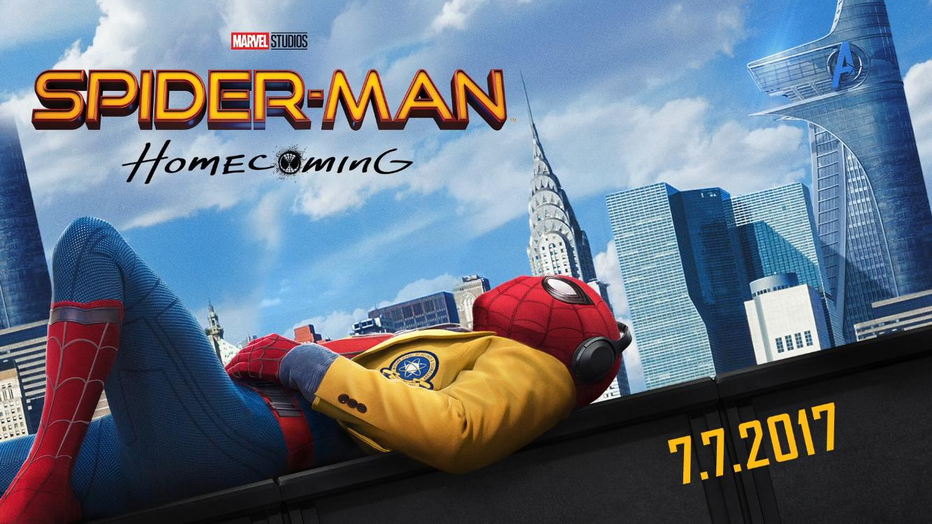 Spider-man homecoming film poster
