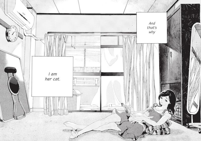 Story: Makoto Shinkai Art:Tsubasa Yamaguchi Translation: Kumar Sivasubramanian Original Story: She and Her Cat: Their Standing Points (1999) by Makoto Shinkai.