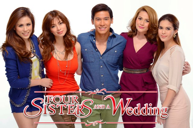 Siblings Who Have Grown Together And Fell Apart Unconditional Love Star Cinema S 20th Anniversary Initial Offering 4 Sisters A Wedding Will