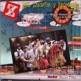A Toda Zarzuela Agua Azucarillos Y Aguardiente