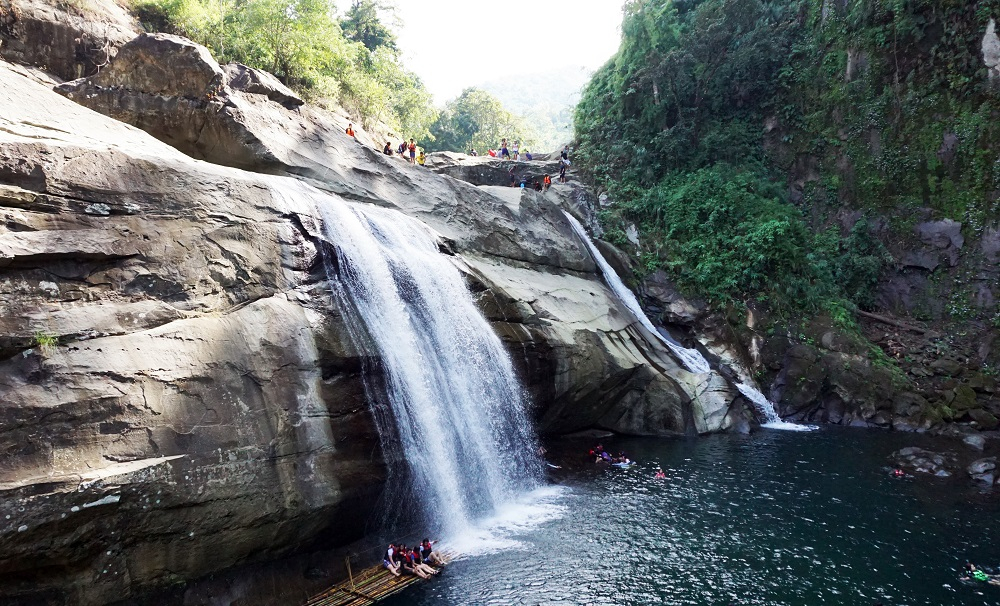 Tangadan Falls, San Gabriel, La Union, La Union, Family and Places, Family vacation, getaway with family, where to go in La Union, waterfalls, Tangadan Falls, San Gabriel, Philippines,