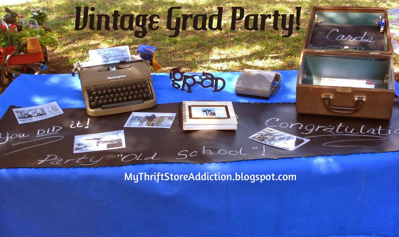 Vintage Graduation Party