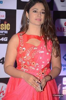Poonam Bajwa Stills at Mirchi Music Awards 2016