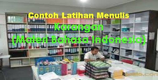 """CONTOH MENULIS KARANGAN """"MELINDUNGI ANAK-ANAK DARI NARKOBA"""" (MATERI BAHSA INDONESIA ANAK)"""