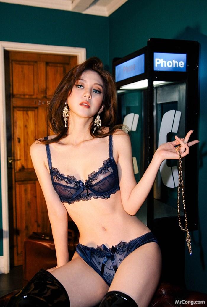 Image Korean-Model-Lee-Chae-Eun-012018-MrCong.com-018 in post Người đẹp Lee Chae Eun trong bộ ảnh nội y tháng 01/2018 (143 ảnh)