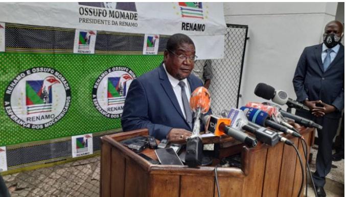Ossufo Momade compromete-se a seguir os ideais do seu antecessor Afonso Dhlakama