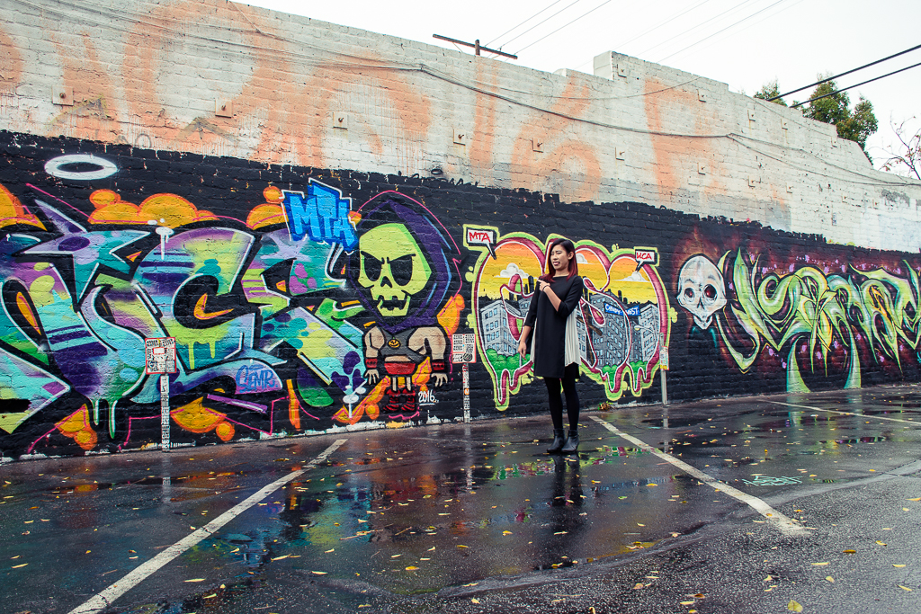 where to find grafitti and street art in los angeles california
