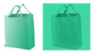 Green Vector Canvas Bag