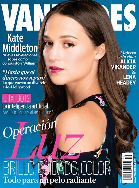 Actress, @ Alicia Vikander - Vanidades Magazine Mexico June 2016
