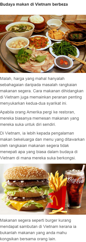 Ini Sebab Mengapa Mcdonald S Dan Burger King Gagal Di Vietnam