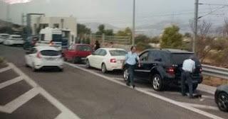 Τροχαία παίρνει πινακίδες από οδηγούς που οδηγούν στη ΛΕΑ της Κορίνθου-Αθηνών