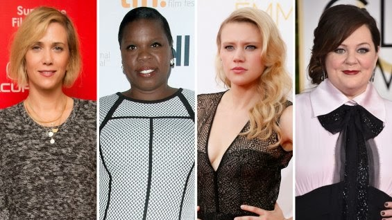 new Ghostbusters female cast Wiig McCarthy