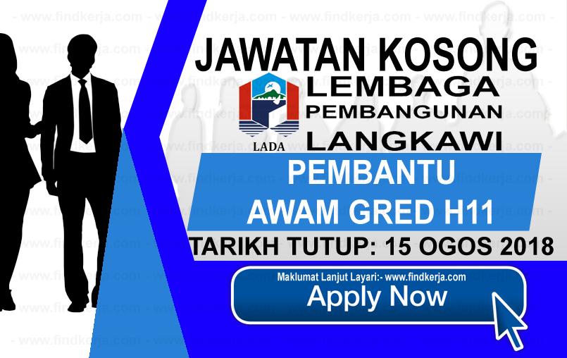 Jawatan Kerja Kosong LADA - Lembaga Pembangunan Langkawi logo www.ohjob.info www.findkerja.com ogos 2018