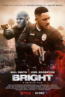 bright recenzja filmu netflix smith edgerton ayer