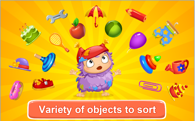 مزايا-لعبة-Kids-Learn-to-Sort-Lite
