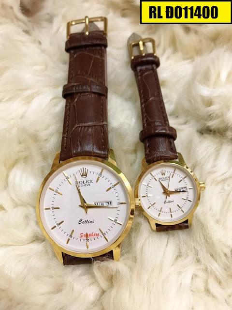 Đồng hồ dây da Rolex Đ011400