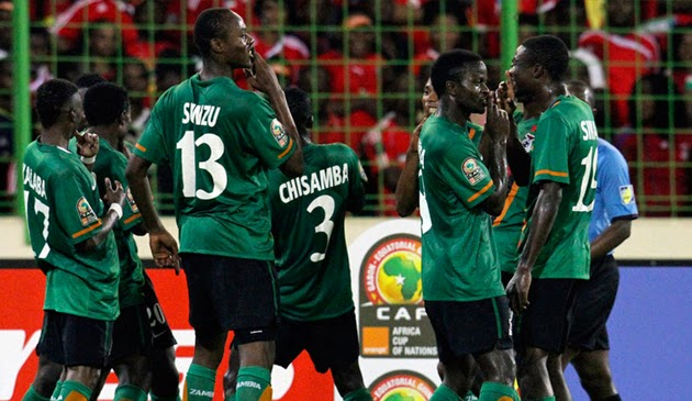 Watch Zambia Vs DR Congo Live online 18/01/2015