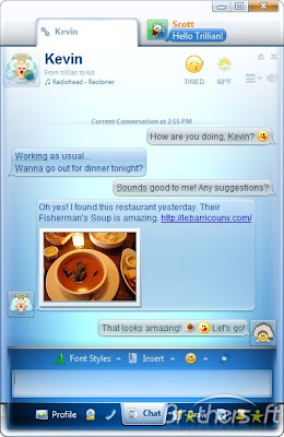 Free Software: Trillian Astra Messenger