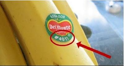 إذا وجدت هذا الرقم على العلامة الموجودة على الفاكهة لا تشتريها ولو بأي ثمن ..هام للغايه