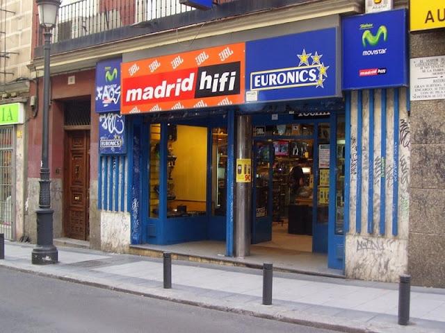 Loja Madrid Hifi em Madri