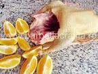 Rata la cuptor preparare reteta - portocalele cu coaja taiate felii