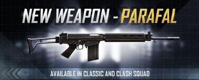 Free Fire OB24 güncellemesinde yeni Parafal silahı: Hasar, istatistikler ve diğer ayrıntılar