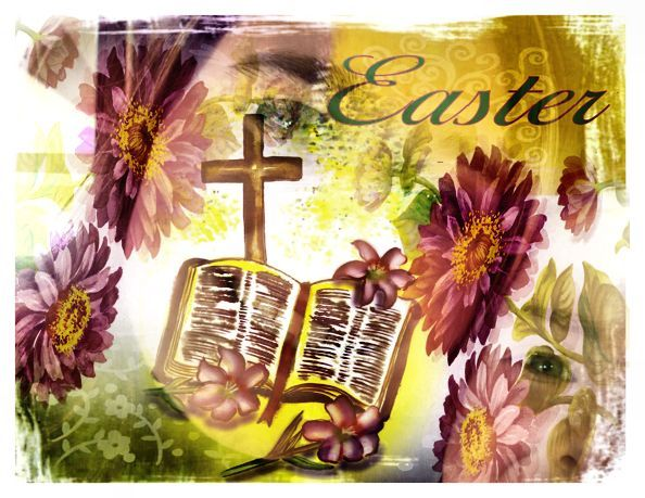Christian Images In My Treasure Box Easter