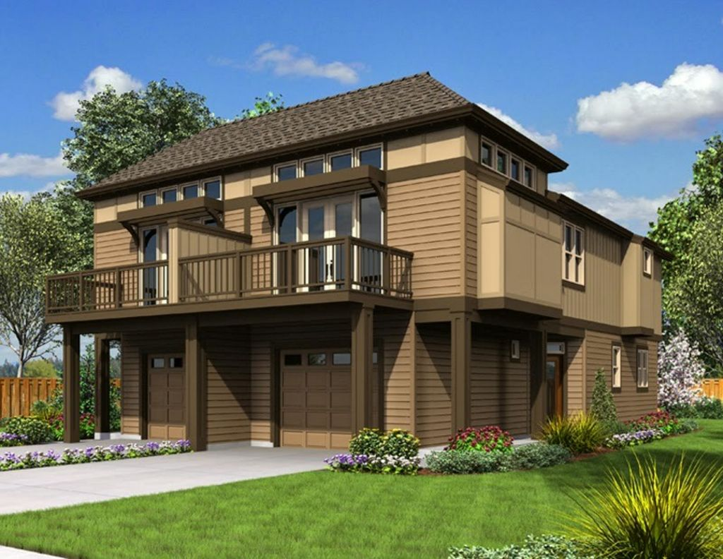 Desain Rumah Kayu Minimalis Idaman