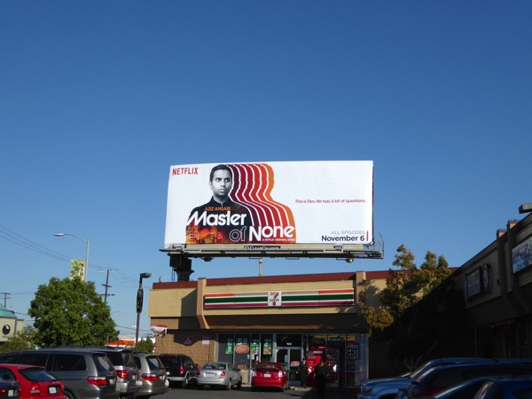 Master of None season 1 billboard