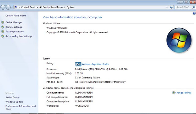 Cek Versi Windows Pada Laptop