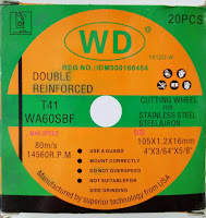 "Batu Potong 4"" WD - Dealer Mata Gerinda WD - Harga Batu Potong 4"" WD"