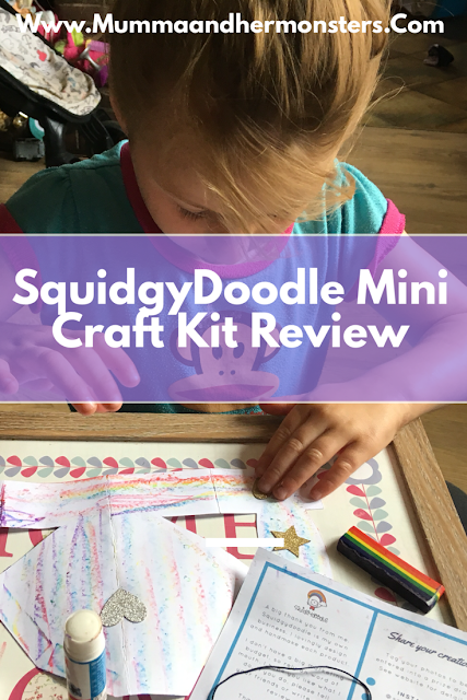 SquidgyDoodle Mini Craft Kit Review