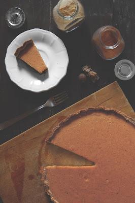 Ricetta pumpkin pie con zucca, spezie e latte condensato