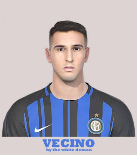 PES 2019 Faces Matías Vecino by The White Demon