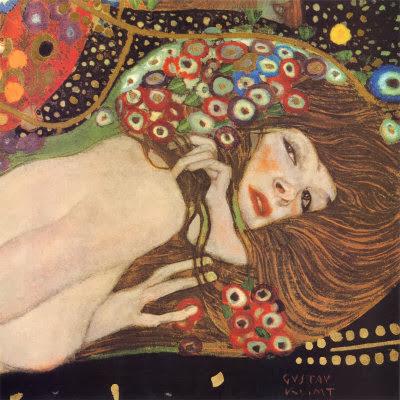 G. Klimt, Bisce d'acqua II part