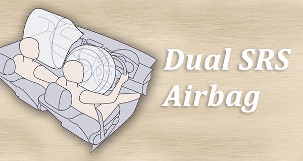 Untuk keamanan penumpang Toyota Calya juga sudah dilengkapi dengan Dual SRS Airbag