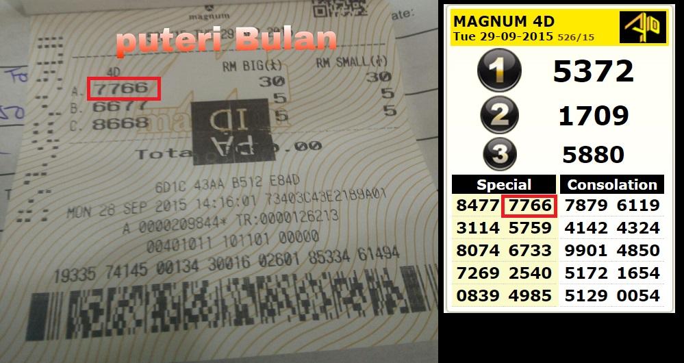 Test Card Magnum 4d