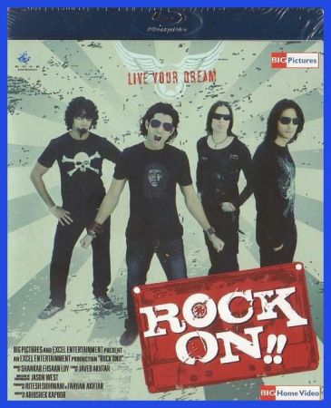 Poster Of Rock On!! 2008 Hindi 720p BRRip Free Download Watch Online