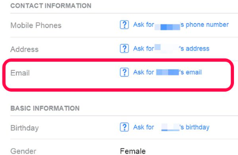 How To Find Out A Facebook Email