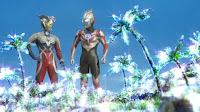 Ultraman Orb meets Ultraman Zero