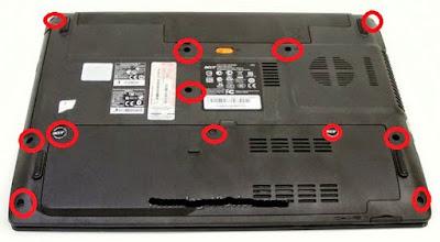 Tutorial servis laptop