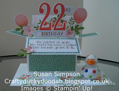 Stampin' Up! UK Independent Demonstrator Susan Simpson, Craftyduckydoodah!, Review of 2016 Part II, Number of Years, Supplies available 24/7,
