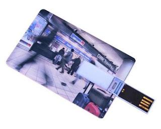 barang promosi flashdisk kartu