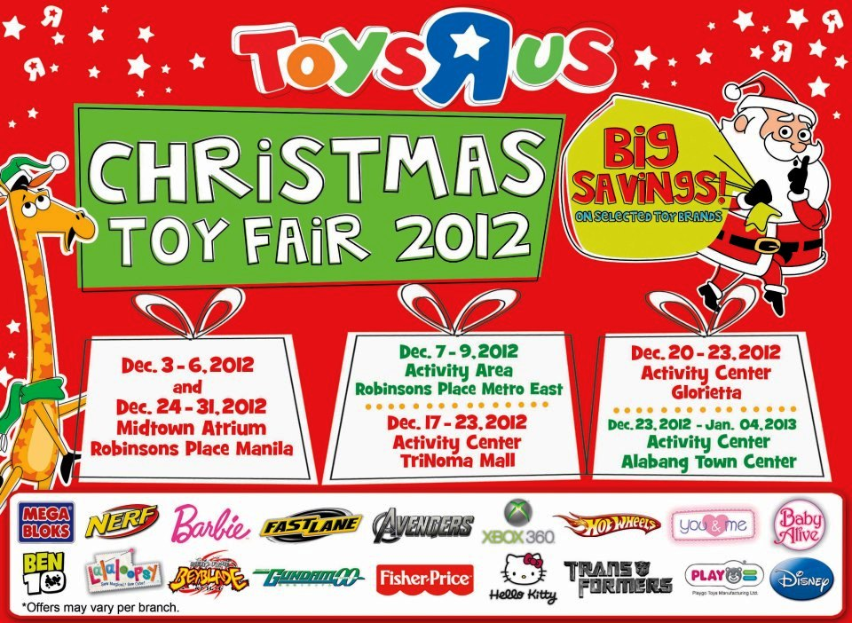 Manila Shopper Toys R Us Christmas Toy Fair 2012