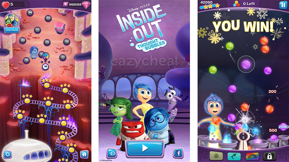 Inside Out Thought Bubbles Cheats