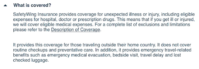 safetying travel medical insurance
