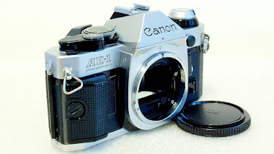 Canon AE-1 Program (Chrome) Body #517